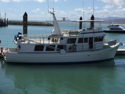 Custom 60ft Huon Pine Charter Boat- Click for more info...