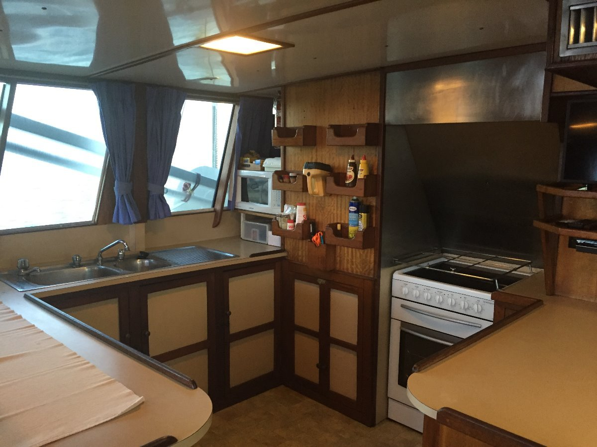 Custom 60ft Huon Pine Charter Boat