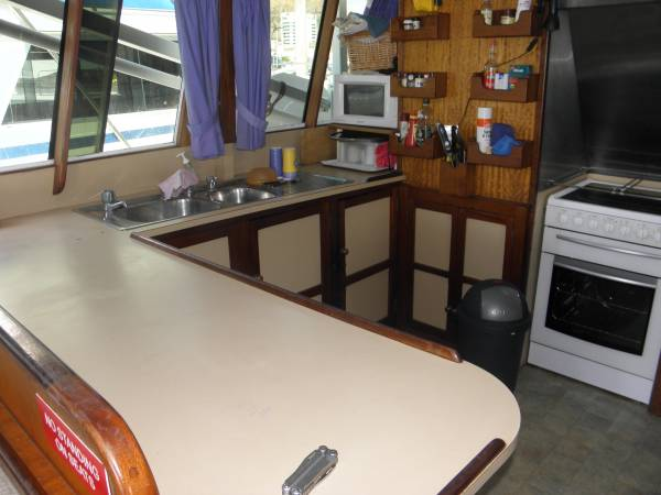 60ft HUON PINE CHARTER BOAT