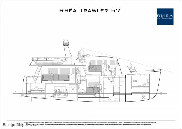 Rhea trawler 57