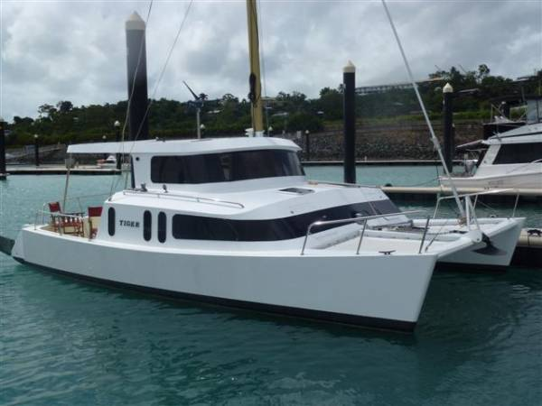 White boat what is the best catamaran fishing boat for Catamaran fishing boats for sale