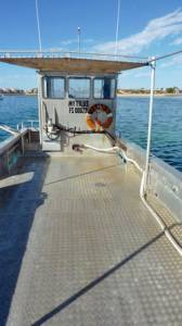 PRICE REDUCED.... 9.63m Aluminium Oyster Punt Work Boat. Built 1997.