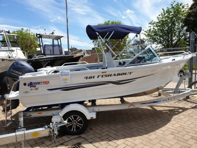 Quintrex 481 Fishabout Runabout