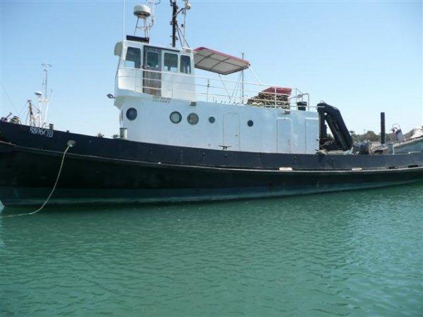 18.31m Steel Tugboat - Work Boat