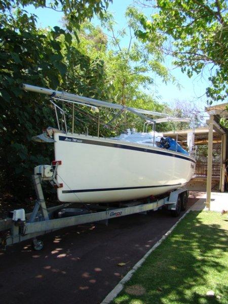 Ross 780 Mk Iii Vicsail Yachts Western Australia