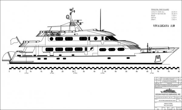 New 40m Classic Dutch Designed Motor Yacht - Price Red