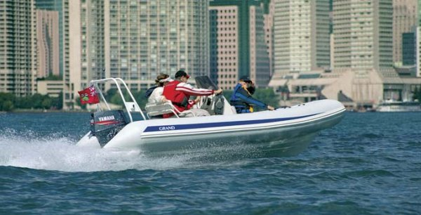 New Grand Silver Line Hypalon Cruiser 5.2m Deluxe