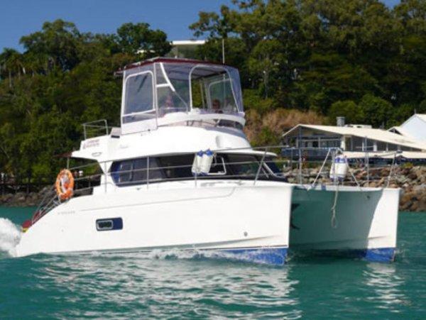 Fountaine Pajot Highland Trawler 35 Power Catamaran