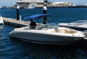 Sea Ray 230 1 share @ $9,500