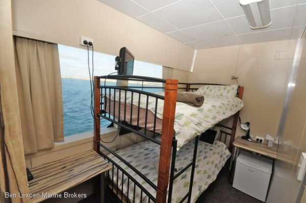 Catamaran Accommodation Vessel