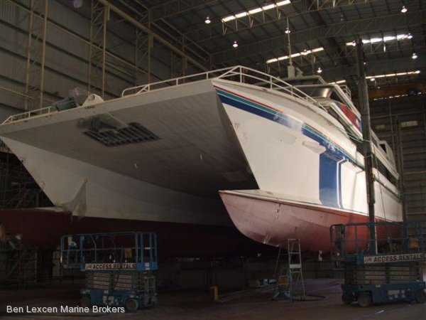 Crowther Power Cat Business Avail' BUILT BY LLOYDS SHIPS