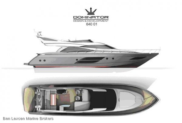 New Dominator 640 Flybridge