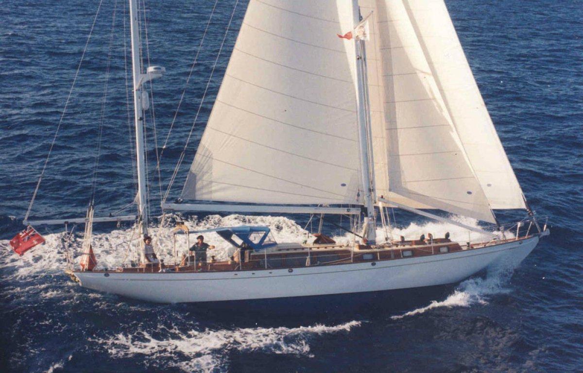 Alden 55 Centerboard Yacht