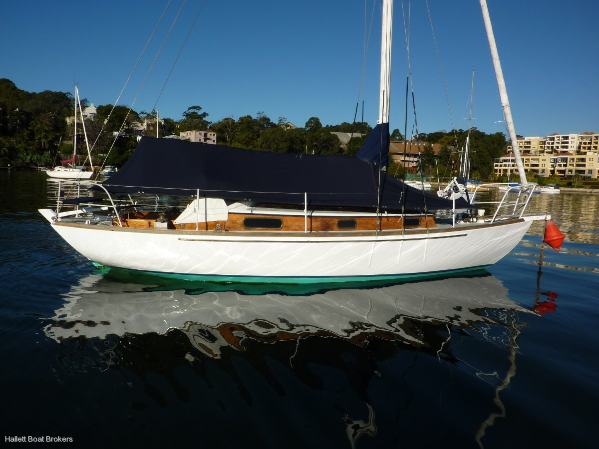 26ft Timber yacht
