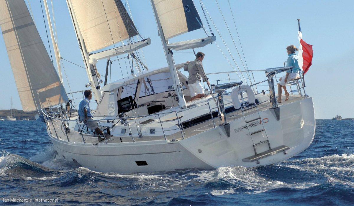 Amel 55 - Performance Sailing Yacht