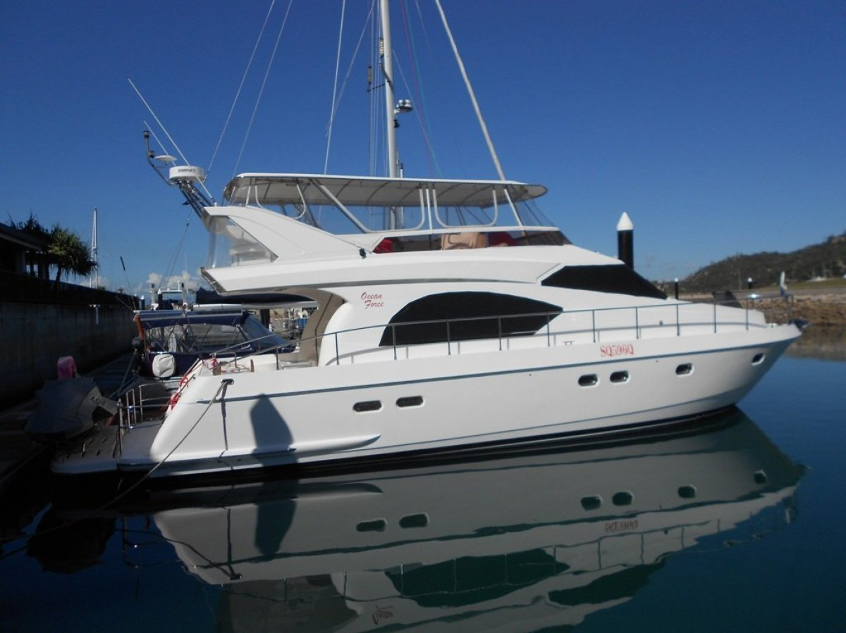 Oceanforce 54' Pilot House