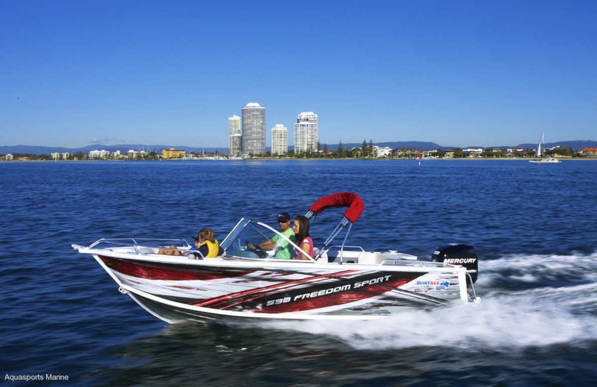 QUINTREX 481,490,510,530,570,610 CRUISEABOUT BOWRIDERS