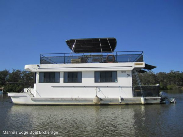 Customcraft 42 Houseboat