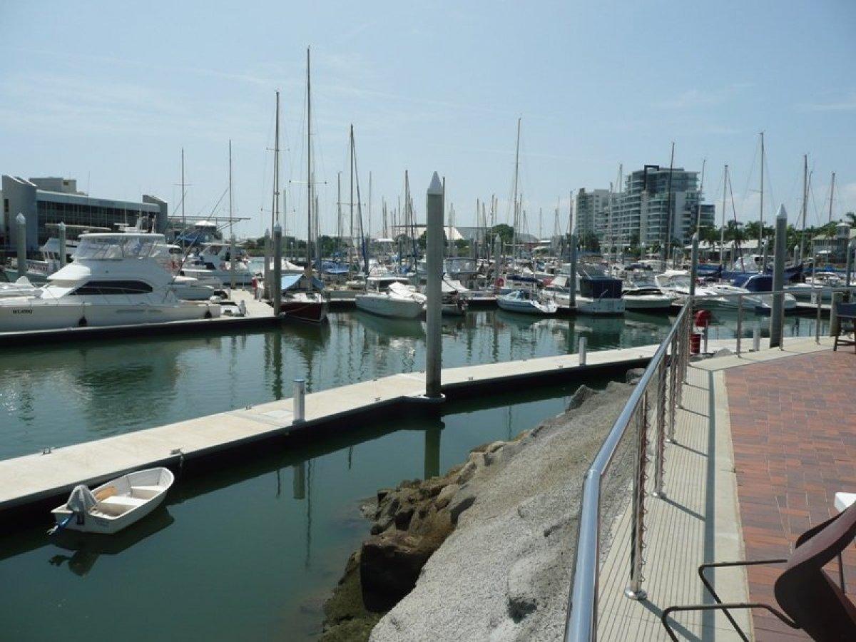 Townsville Yacht Club wide 15M berth