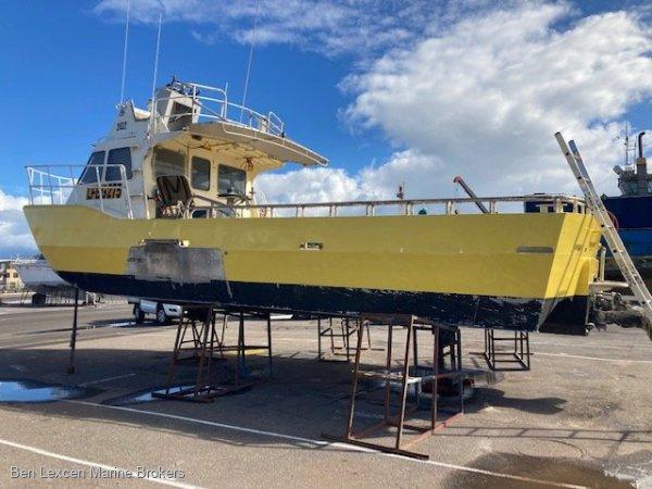 32' Jet Aluminium Cray Boat