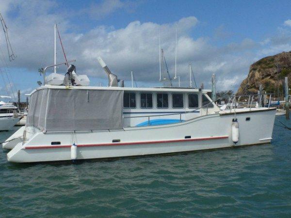 Brady 12m Power Catamaran