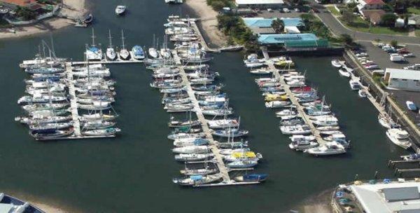 9m Marina Berth B10 in Kawana Waters Marina