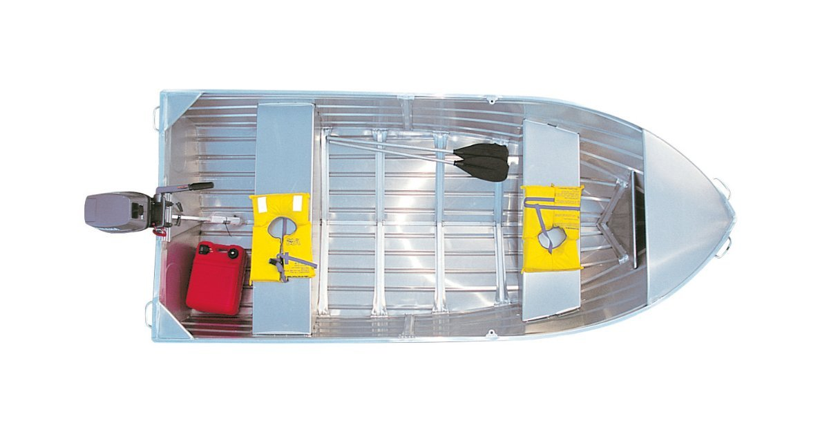 Stacer 359 Seasprite Short Shaft Tinnie/Dinghy Hull Only