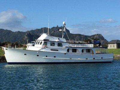 Luxury New Zealand Built 73ft Motoryacht