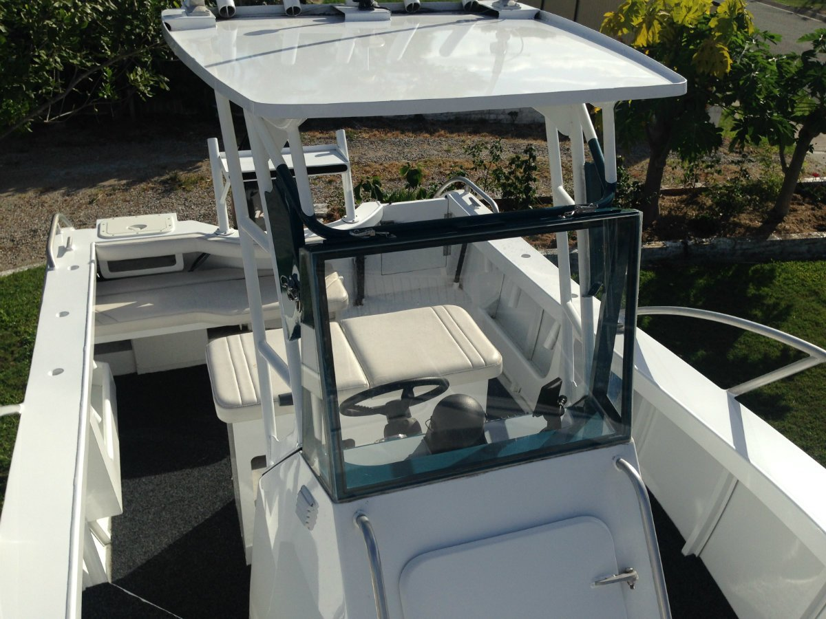 Custom Aluminium Plate Fishing Boat