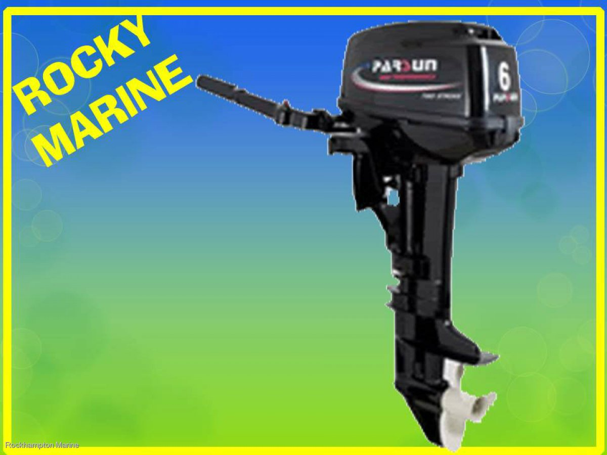 BRAND NEW PARSUN 6HP TWO STROKE, SHORT SHAFT OUTBOARD!!!