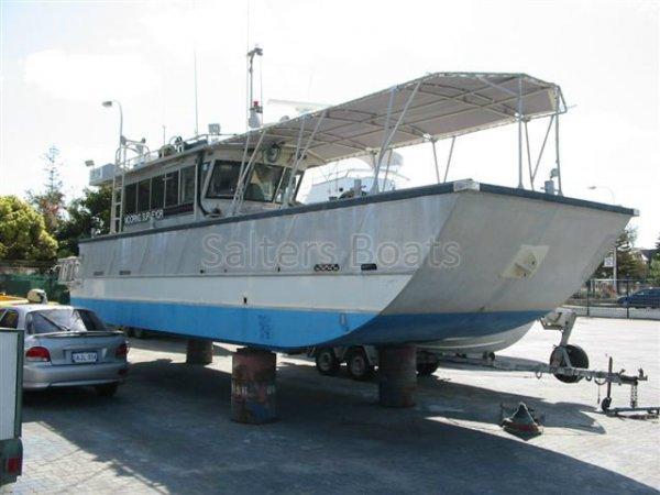 10.3m Aluminium purpose built Dive Service Vessel