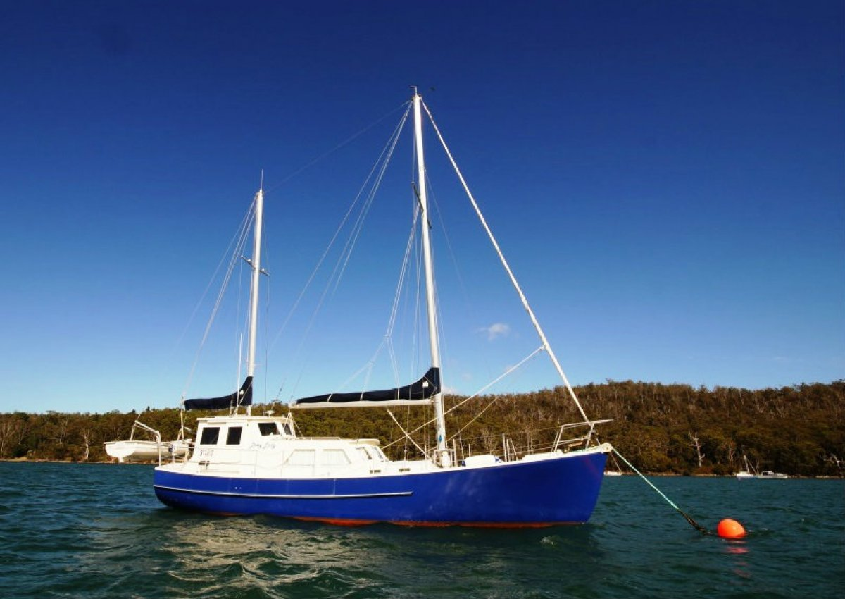 40 Pilothouse Motorsailer Lewy Lady Sail Monohulls