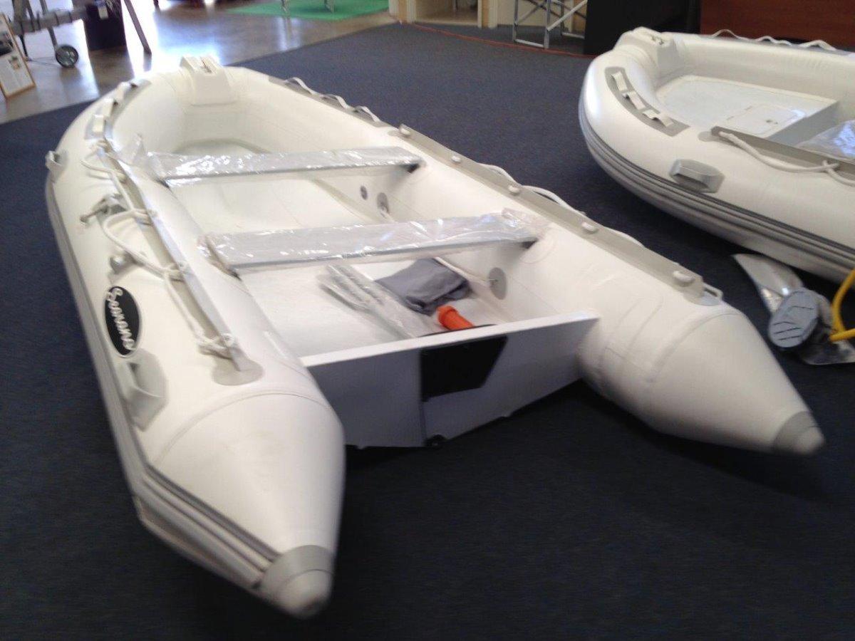 SEARANO 330A Infaltable boat Aluminium hull
