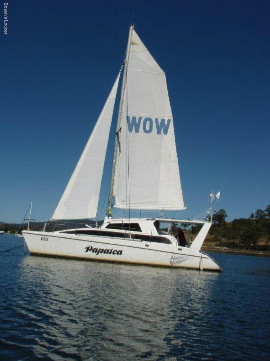 Tennant 10.5 cruising catamaran