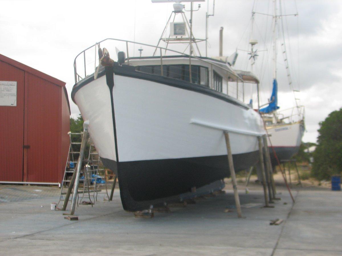 Foward Wheelhouse Displacement Fishing Vessel