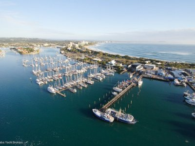 15m Pair of Mono Berths or a Multi Hull Marina Berth For Sale at Mooloolaba Marina