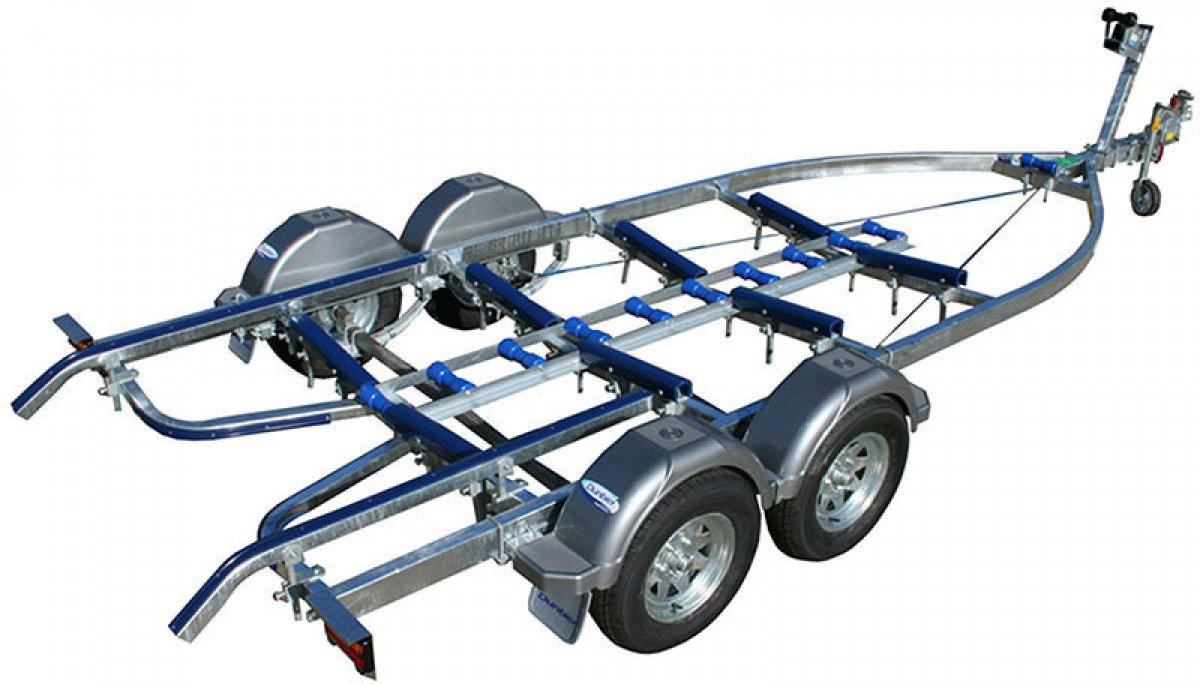 New Dunbier tandem trailer