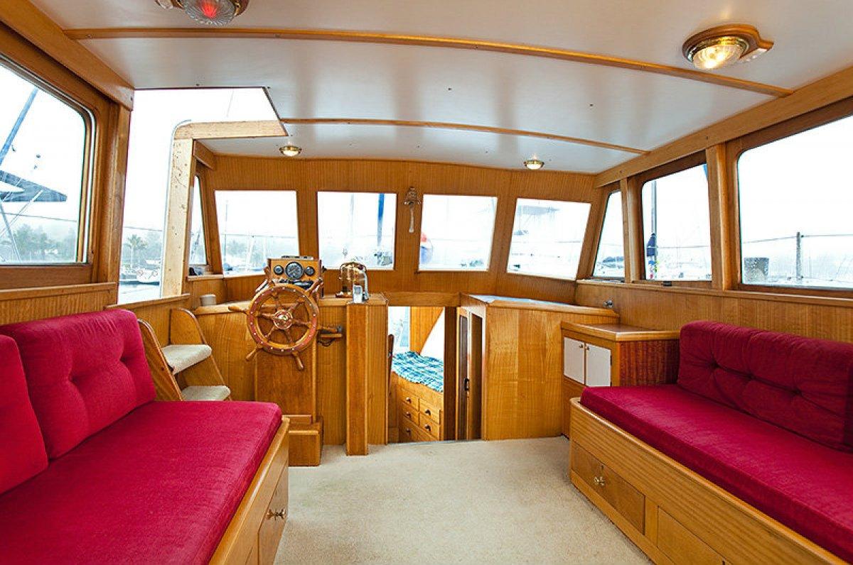 Jack Clark planked bay cruiser