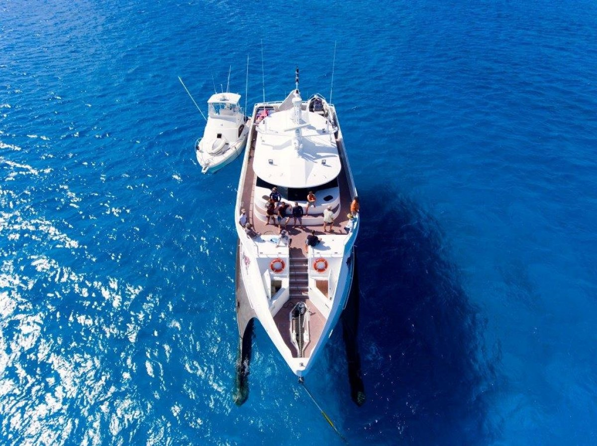 wave piercing catamaran 28 2m for sale