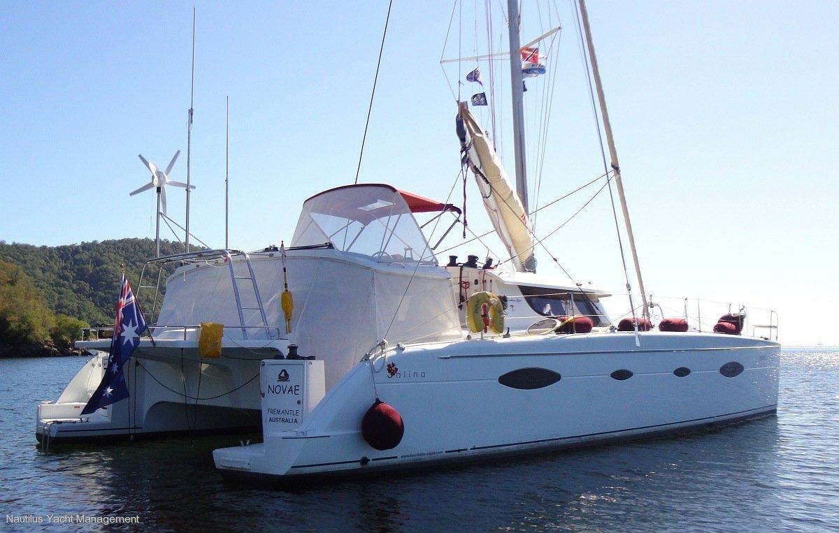 Fountaine Pajot Salina 48:Nautilus Yacht Management