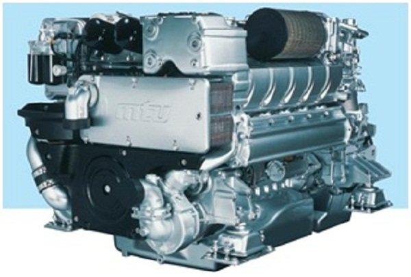 10 Units of Mtu Marine Propulsion Engines (Mtu 16v2000m84)
