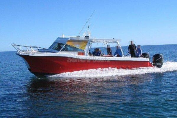 34' Fibreglass Commercial Charter Catamaran