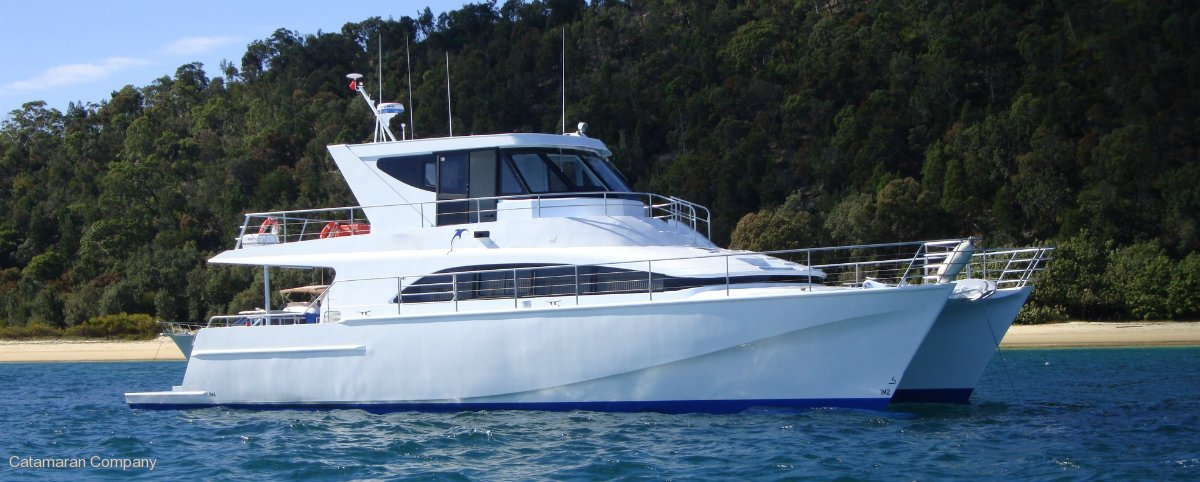 New Wave 19m power Catamaran