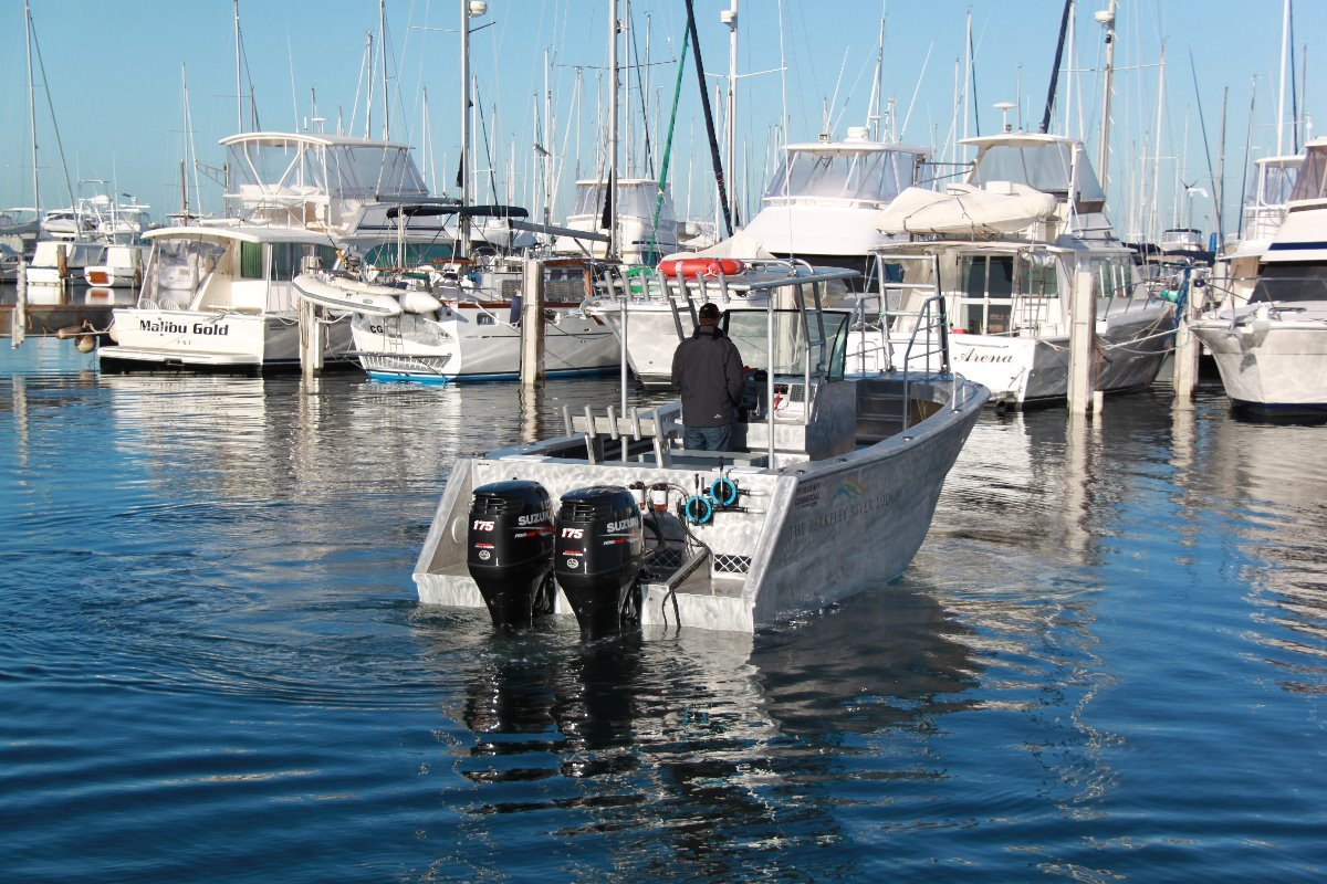 Saltwater Commercial Boats 7.5m Centre Console Saltwater Commercial Workboats