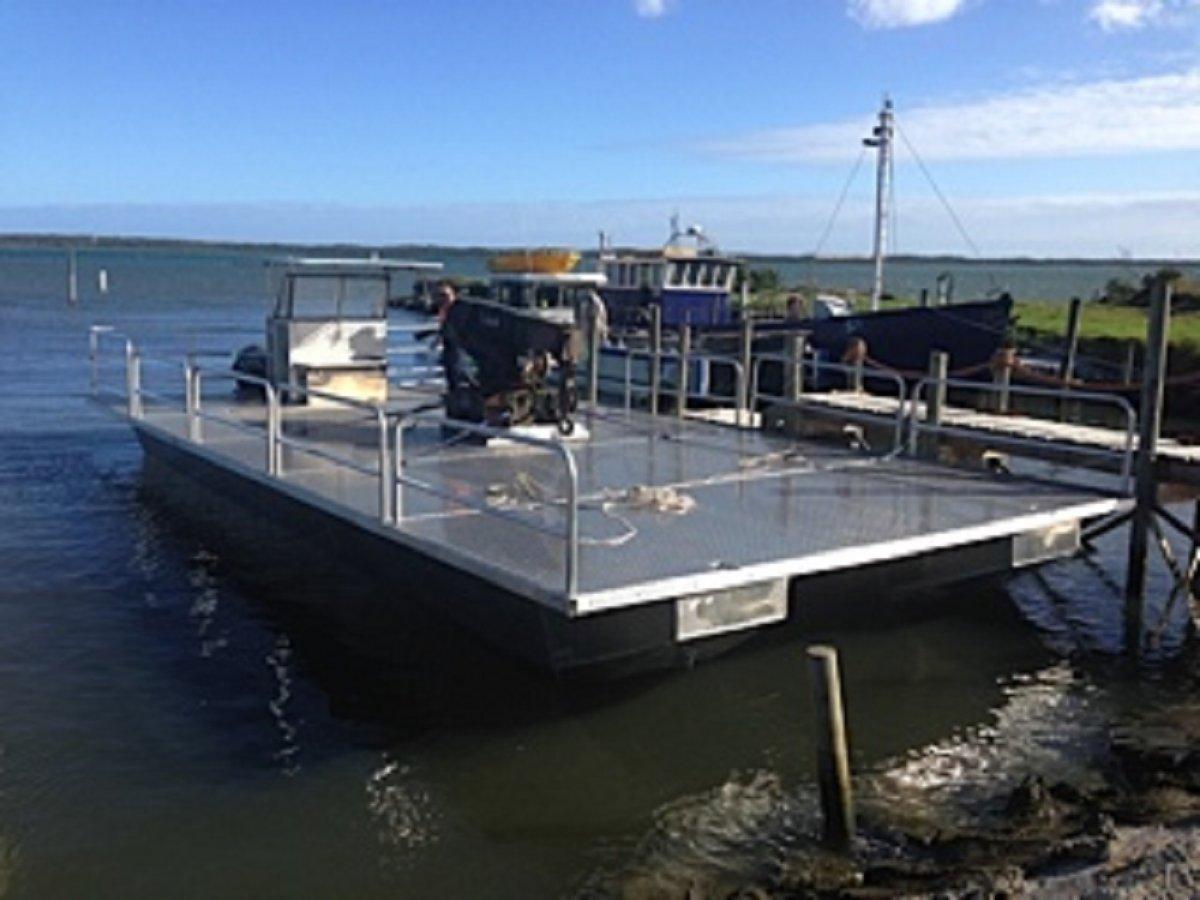 12m Catamaran Barge