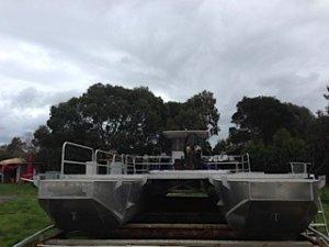 Alloy Catamaran Barge 12m X 6M