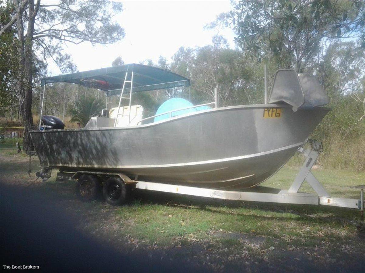Alloy Net Boat