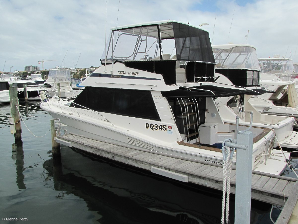 "Riviera 38 Flybridge - Reduced Again. Owner sells ""SELL"""