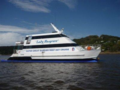 Pacific Flybridge Passanger Catamaran