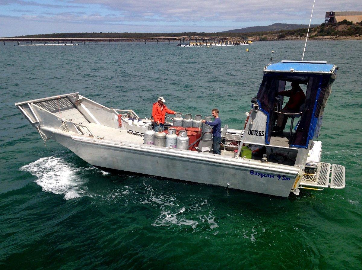 Architect design Southern Hemisphere landing barge